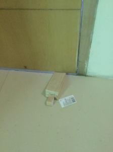 Kmart Doorstop - $3 safety hack!
