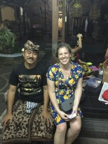 Wayan (painting teacher who also did Balinese drumming)